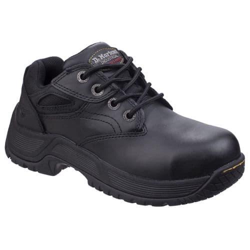 Dr Martens Calvert Shoes- Safety Black